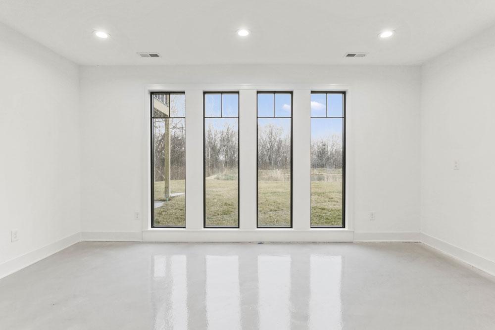 Basement Window Configuration